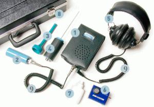 Son-Tector ultrasonic detector 123 package